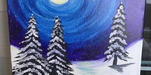 Java, Paint and Raise funds - BBA Winter Wonderland