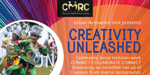 CMRC Masterclass & info night for Creativity      unleashed