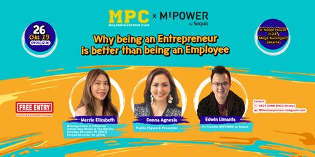 Why being an Entrepreneur is better than being an Employee tickets
