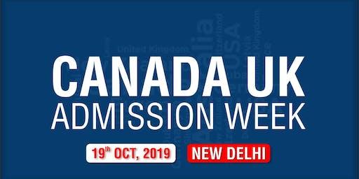 Canada UK Admission Week 2019 - New Delhi