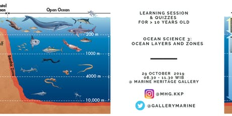 OCEAN SCIENCE 3: OCEAN LAYERS AND ZONES tickets