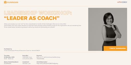 Leadership Workshop : Leader as Coach