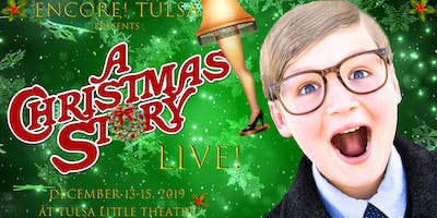 A Christmas Story: Friday, 12/13 at 7:30 PM