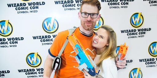 Wizard World Madison 2019 Blaster Battles Waiver