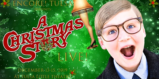 A Christmas Story: Saturday, 12/14 at 7:30 PM