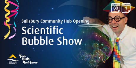 The Scientific Bubble Show tickets