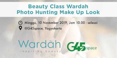 Beauty Class Wardah: Photo Hunting Make Up Look