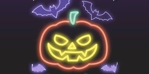 Halloween black lights