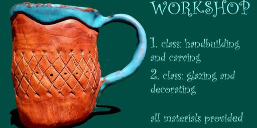 Clay cup making workshop