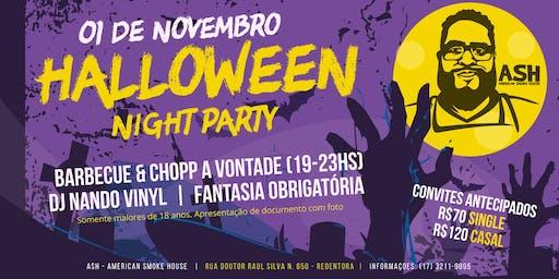 Halloween Night Party na ASH