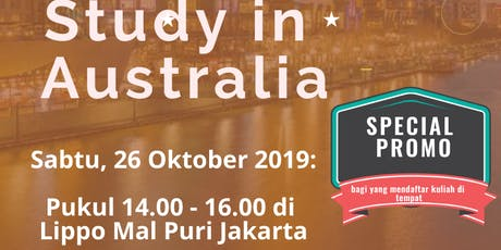 Study in Australia - Consultation & Application Day tickets