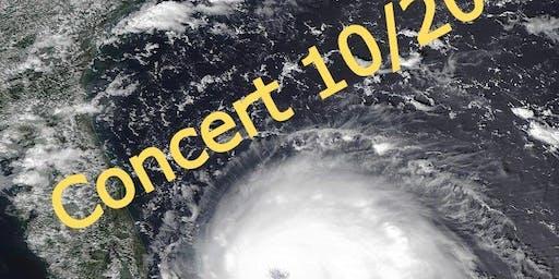 Hurricane Dorian Relief Concert 10/20