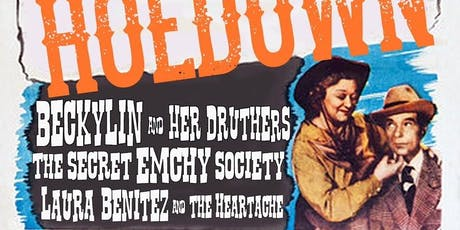 Beckylin & Her Druthers/TheSecret Emchy Society/Laura Benitez&The Heartache tickets