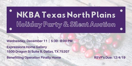 NKBA December Meeting-Operation Finally Home Silent Auction & Holiday Party tickets