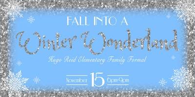 Hugo Reid Elementary PTSA Presents: Fall Into A Winter Wonderland!