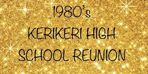 1980's Kerikeri High School Reunion