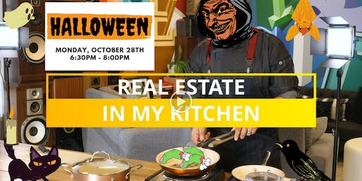 Real Estate in My Kitchen Halloween Party!