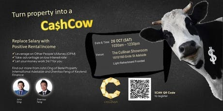 Turn Your Investment Property into a Cash Cow tickets