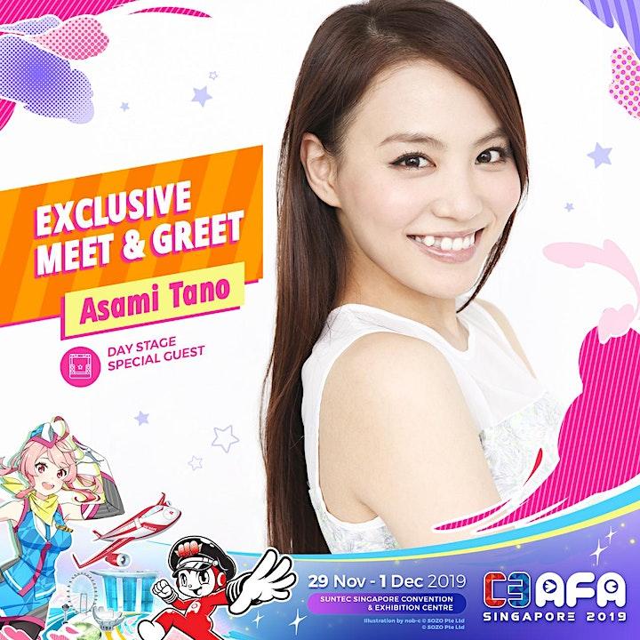 C3AFASG19 Asami Tano Meet and Greet image