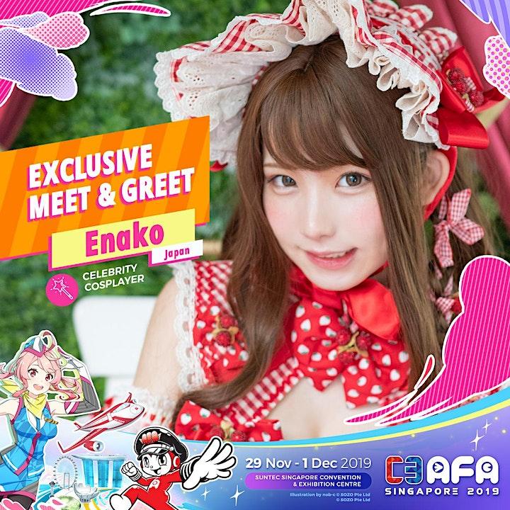 C3AFASG19 Enako Meet and Greet image