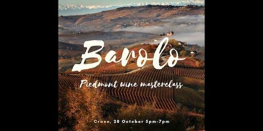Wine Masterclass: Piedmont Region