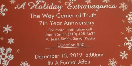 A Holiday Extravaganza - Celebrating 7 Years of Community Service tickets
