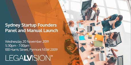 Sydney Startup Founders Panel and Manual Launch tickets
