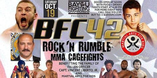 BFC 42 | Rock N' Rumble | Mixed Martial Arts Slidell, LA