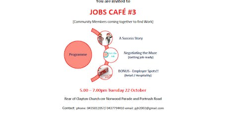 Jobs Cafe tickets