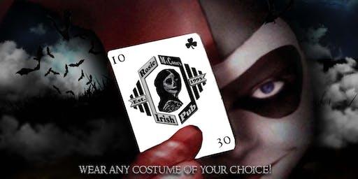 """Halloween Party """" Wild Card"""" at Rosie McCann's Santana Row"""