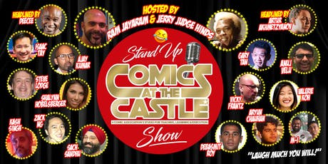 Stand Up Comics at the CASTLE Show tickets