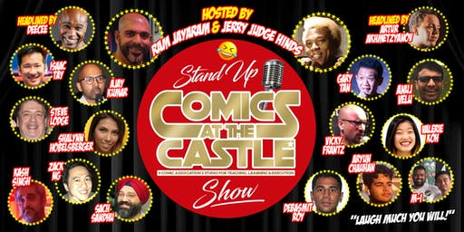 Stand Up Comics at the CASTLE Show