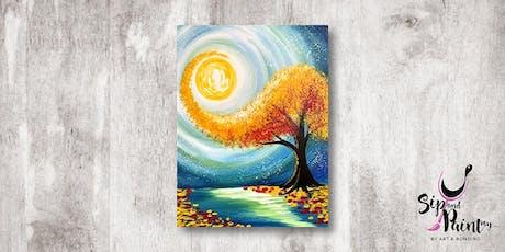 Sip & Paint MY @ Ampang :  Windy Fall tickets