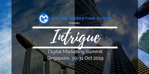 Intrigue Singapore 30-31 Oct 2019