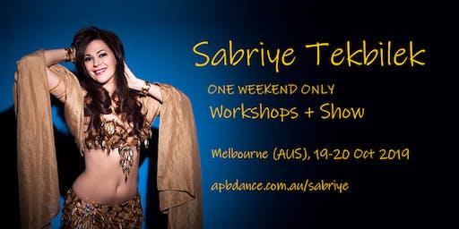 Laila Ma Sabriye-Middle Eastern Dance-Bellydance Showcase -Sabriye Tekbilek