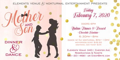 Mother/Son Dinner & Dance tickets