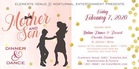 Mother/Son Dinner & Dance tickets