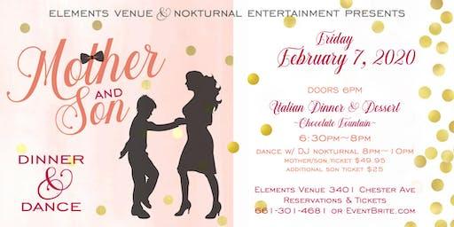 Mother/Son Dinner & Dance