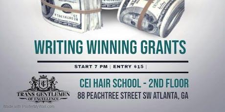 """Money Fast"" Writing Winning Grants Workshop tickets"
