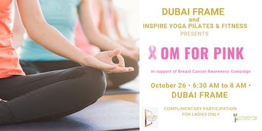 OM for Pink - Slow Flow Yoga & Sound Healing Session