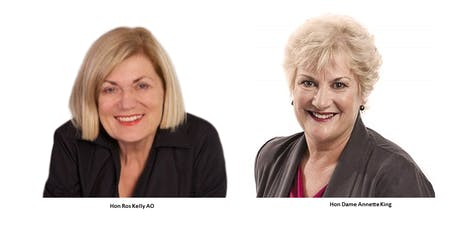 Inspiring Women Reflect: Hon Dame Annette King & Hon Ros Kelly AO tickets