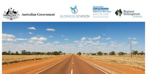 Julia Creek Digital Business Workshop and Government Funding