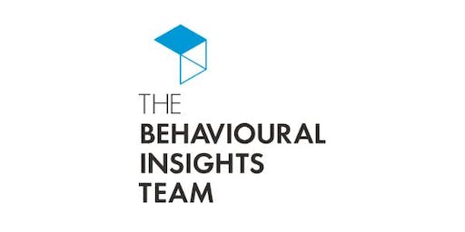 """Shaping Sustainable Behaviours: A Presentation by the UK """"Nudge Unit"""""""