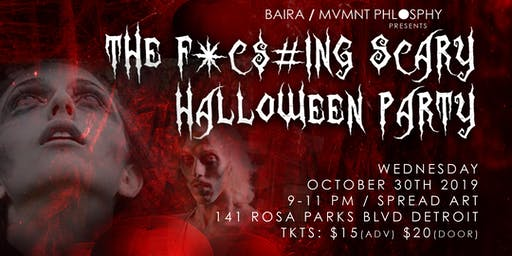 The F*¢$#ing Scary Halloween Party