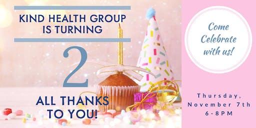 Kind Health Group Turns 2!