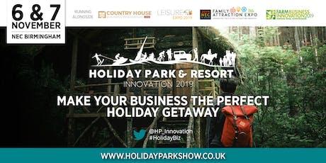 Holiday Park & Resort Innovation Show tickets