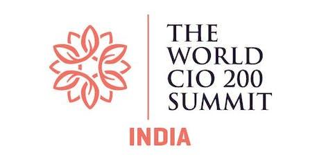 The World CIO 200 Summit 2019 - India tickets