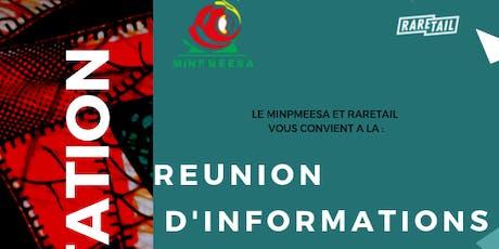 REUNION D'INFORMATIONS KFAAM billets