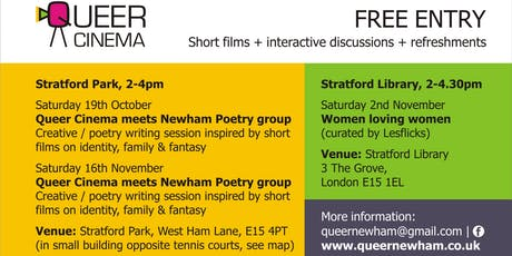 Queer Cinema meets Newham Poetry Group tickets