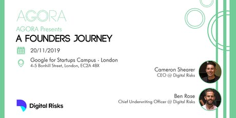 A Founder's Journey w/ Digital Risks tickets